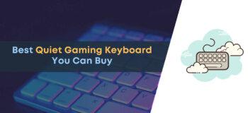 best quiet gaming keyboards